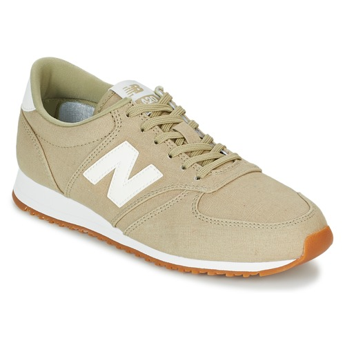 Shoes Women Low top trainers New Balance WL420 Beige