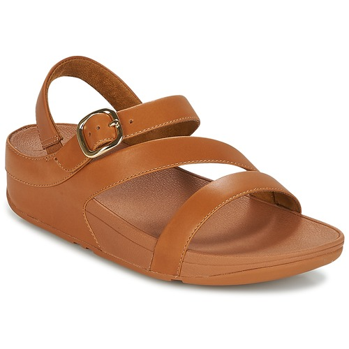 Shoes Women Sandals FitFlop THE SKINNY II BACK STRAP SANDALS Camel