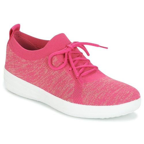 Shoes Women Low top trainers FitFlop F-SPORTY UBERKNIT SNEAKERS Pink