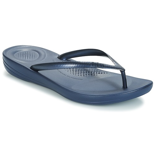 Shoes Women Flip flops FitFlop IQUSHION Navy