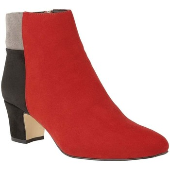 Shoes Women Ankle boots Lotus Clara Womens Dress Ankle Boots red