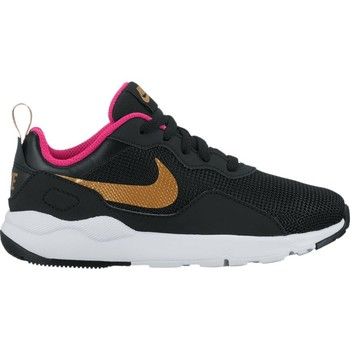 Shoes Girl Low top trainers Nike Girls'  LD Runner (PS) Pre-School Shoe NEGRO