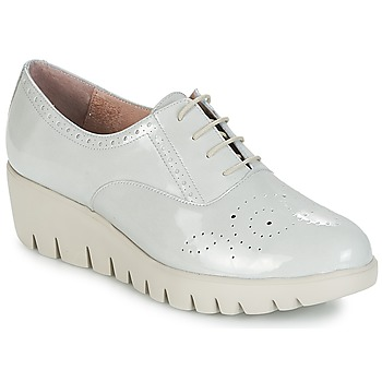 Shoes Women Derby Shoes & Brogues Wonders PIEROD Nude / Varnish