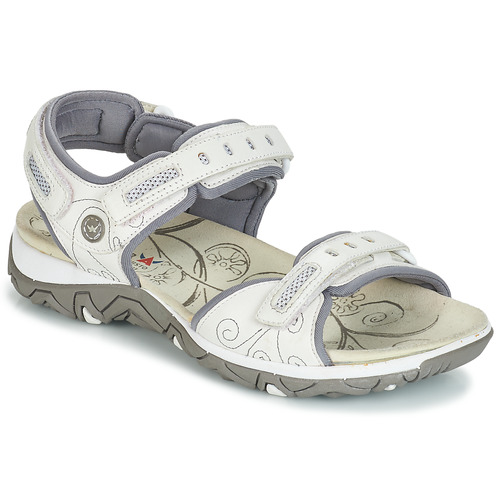 Shoes Women Outdoor sandals Allrounder by Mephisto LAGOONA White