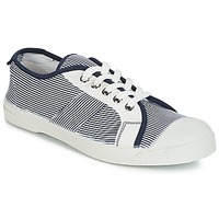 Shoes Women Low top trainers Bensimon TENNIS FINES RAYURES Navy