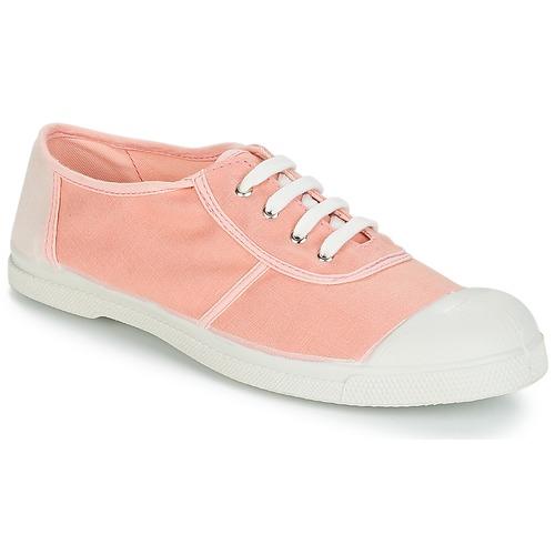 Shoes Women Low top trainers Bensimon TENNIS LINENOLDIES Pink