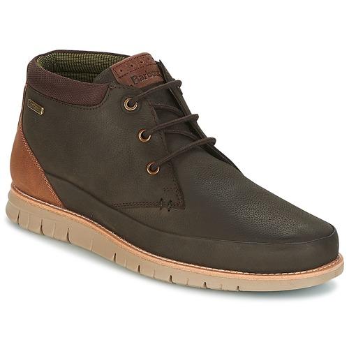 Shoes Men Mid boots Barbour NELSON Brown