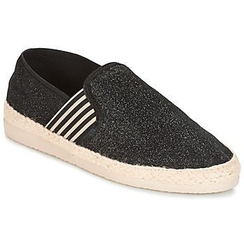 Shoes Women Espadrilles Ippon Vintage SMILE-DRESSNAVY Black