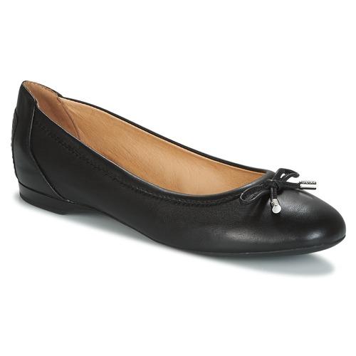 Shoes Women Flat shoes Geox LAMULAY Black