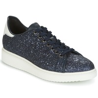 Shoes Women Low top trainers Geox D THYMAR C Blue / White