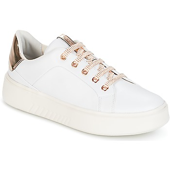 Shoes Women Low top trainers Geox D NHENBUS A White