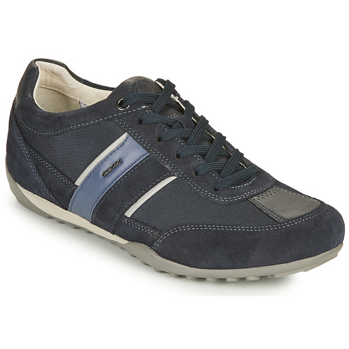 Shoes Men Low top trainers Geox U WELLS C Blue