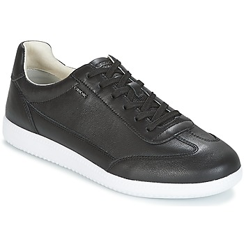 Shoes Men Low top trainers Geox U KEILAN B Black
