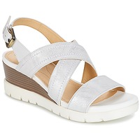Shoes Women Sandals Geox MARYKARMEN P.B White