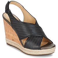 Shoes Women Sandals Geox JANIRA C Black