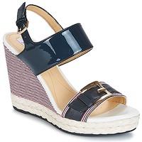 Shoes Women Sandals Geox JANIRA E Blue
