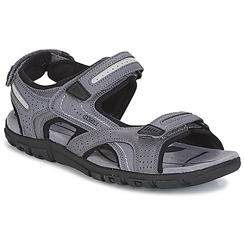 Shoes Men Outdoor sandals Geox S.STRADA D Grey