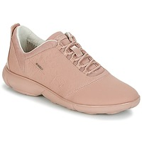 Shoes Women Low top trainers Geox NEBULA Pink