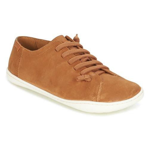 Shoes Women Derby Shoes Camper PEU CAMI Tan