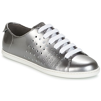 Shoes Women Low top trainers Camper TWS Silver