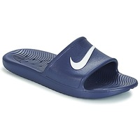 Shoes Men Sliders Nike KAWA SHOWER SLIDE Blue / White