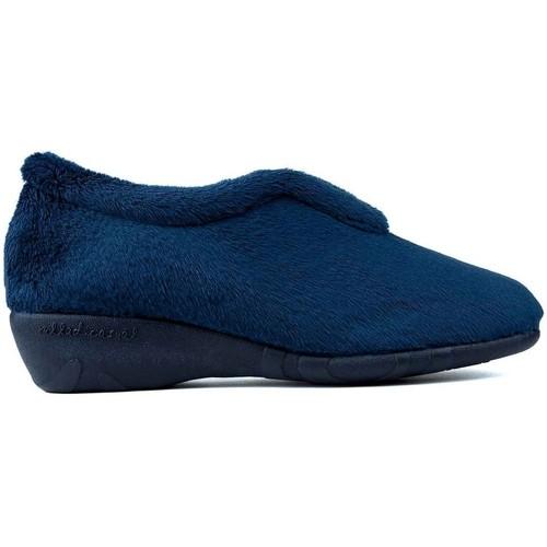 Shoes Women Slippers Vulladi MONTBLANC BLUE