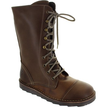Shoes Women Mid boots Oxygen Taff Brown