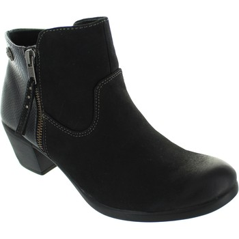 Shoes Women Ankle boots Earth Spirit Montgomery Black