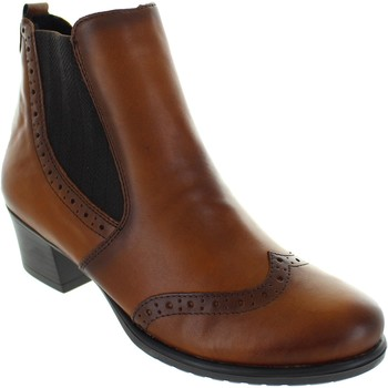 Shoes Women Ankle boots Remonte Dorndorf D3188-24 Brown