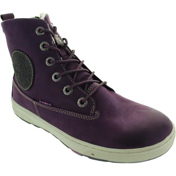 Shoes Girl Ankle boots Lurchi 33-14779 Purple/Charcoal