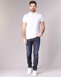 Clothing Men slim jeans Sisley FLAGADU Blue / Dark