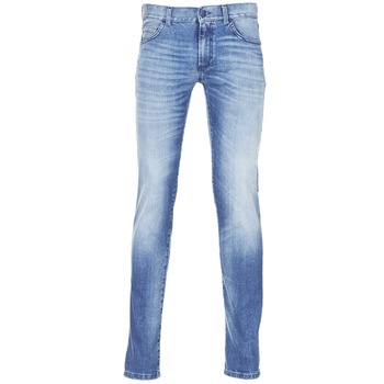 Clothing Men slim jeans Sisley BURLUDU Blue / Medium