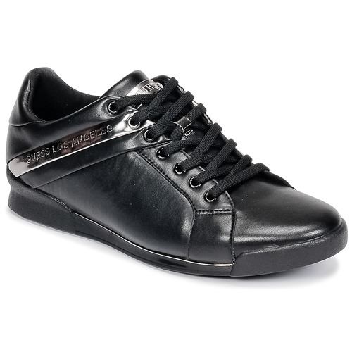 Shoes Men Low top trainers Guess NEW GEORG Black