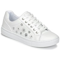 Shoes Women Low top trainers Guess JAMIT White
