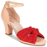 Shoes Women Sandals Miss L'Fire EVIE Red / Pink