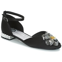 Shoes Women Sandals Miss L'Fire PETUNIA Black