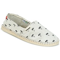 Shoes Espadrilles Havaianas ORIGINE PRINT BEACH Beige