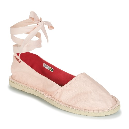Shoes Women Espadrilles Havaianas ORIGINE SLIM Pink