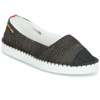 Shoes Women Espadrilles Havaianas ORIGINE FLATFORM UP Black