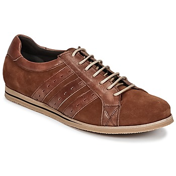 Shoes Men Low top trainers So Size GOPINETTE Brown