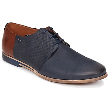 Shoes Men Derby Shoes Kost FURE Marine / Brown