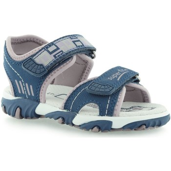Shoes Children Sandals Superfit 0017389 Tecnotextil Indigo Multi