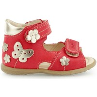 Shoes Children Sandals Emel E220713 Red