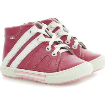 Shoes Children Hi top trainers Emel E15336 White-Red