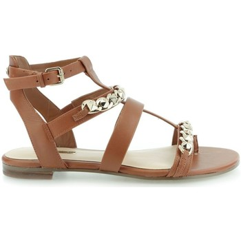 Shoes Women Sandals Guess Frainee Sandalo Leather Lugga