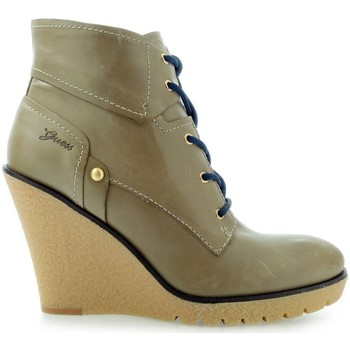 Shoes Women Ankle boots Guess Eireen Shootie Ankle Boot Taupe