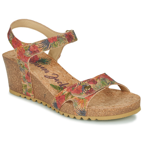 Shoes Women Sandals Panama Jack JULIA Beige