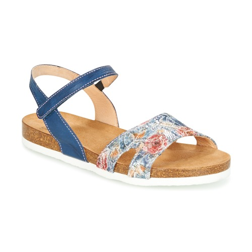 Shoes Women Sandals Think ZIFUDEKE Blue