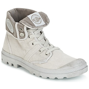 Shoes Men Mid boots Palladium BAGGY PALLABROUSSE Metal