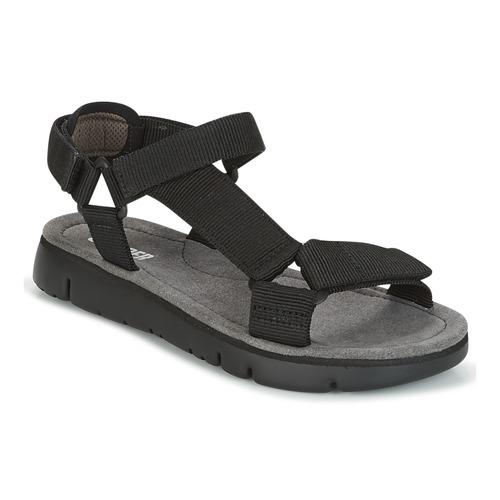 Shoes Women Sandals Camper ORUGA SANDAL Black
